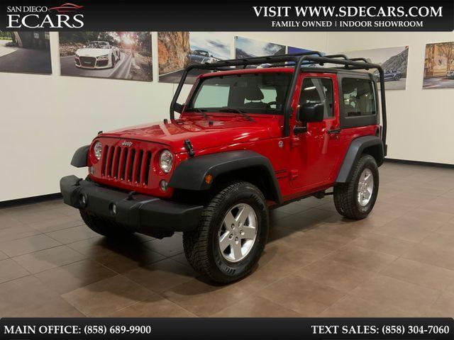 2014 Jeep Wrangler Sport in San Diego, CA 92126