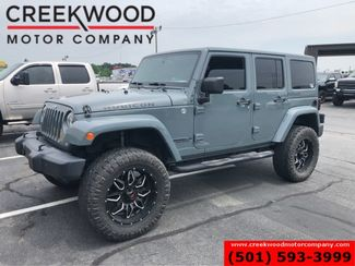 2014 Jeep Wrangler Unlimited Rubicon 4x4 Auto Hardtop Lifted 35s Leather Nav in Searcy, AR 72143