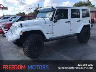 2014 Jeep Wrangler Unlimited Sahara in Abilene,Tx, Texas 79605