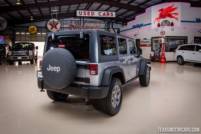 2014 Jeep Wrangler Unlimited Rubicon 4X4 in Addison Texas, 75001
