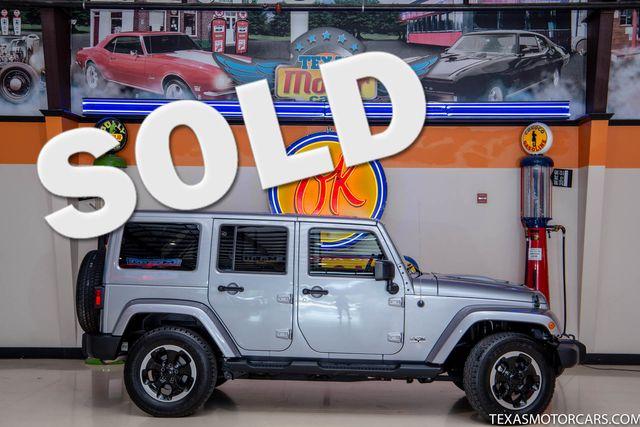 2014 Jeep Wrangler Unlimited Polar Edition 4x4