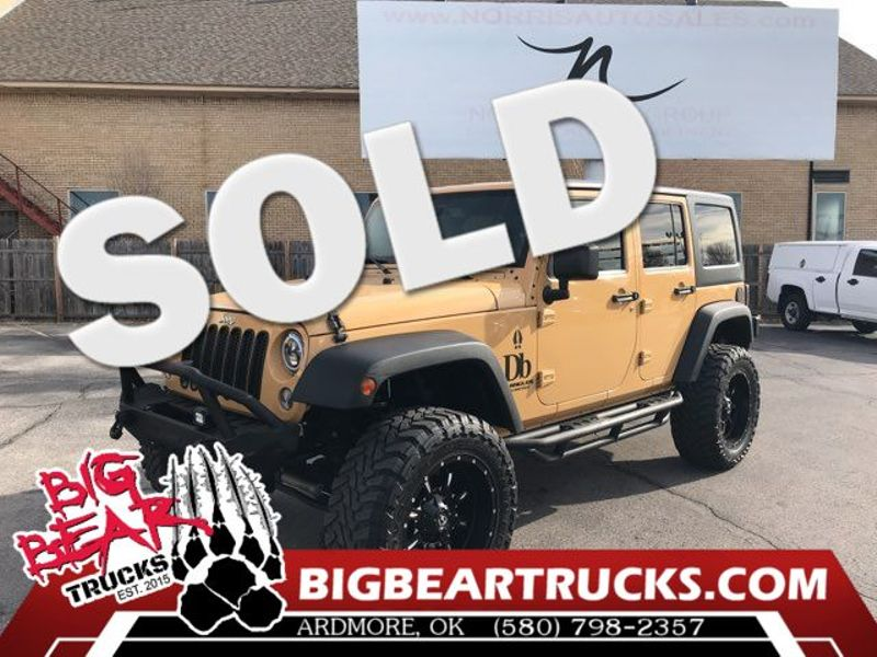 2014 Jeep Wrangler Unlimited Sport | Ardmore, OK | Big Bear Trucks (Ardmore) in Ardmore OK