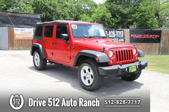 2014 Jeep Wrangler Unlimited Right Side Drive