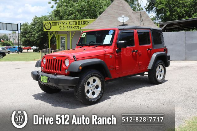 2014 Jeep Wrangler Unlimited Right Side Drive in Austin, TX 78745