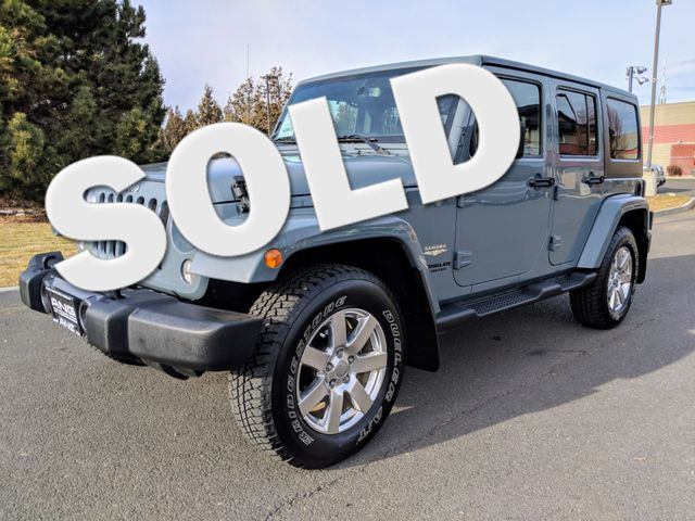 2014 Jeep Wrangler Unlimited Sahara Super Low Miles Bend, Oregon