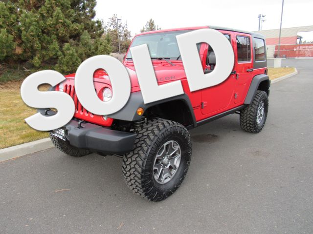 2014 Jeep Wrangler Unlimited Rubicon With A Third Row Seat Bend