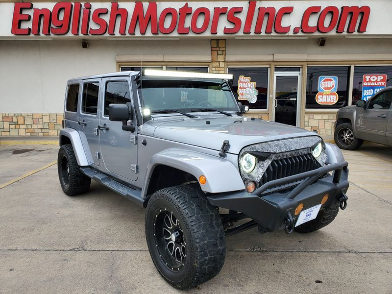 2014 Jeep Wrangler Unlimited Sahara  Brownsville TX  English Motors  in Brownsville, TX