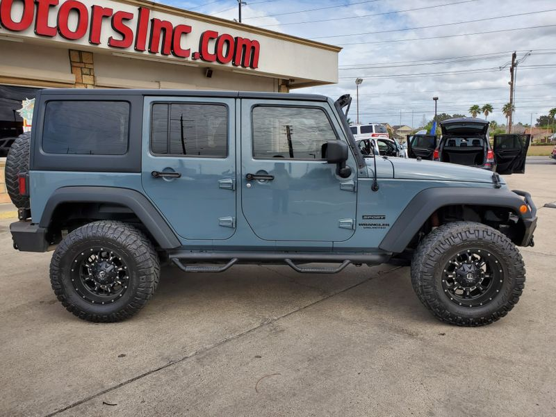 2014 Jeep Wrangler Unlimited Sport  Brownsville TX  English Motors  in Brownsville, TX