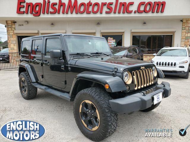 2014 Jeep Wrangler Unlimited Dragon Edition