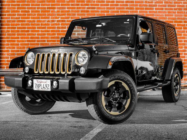 2014 Jeep Wrangler Unlimited Dragon Edition Burbank, CA