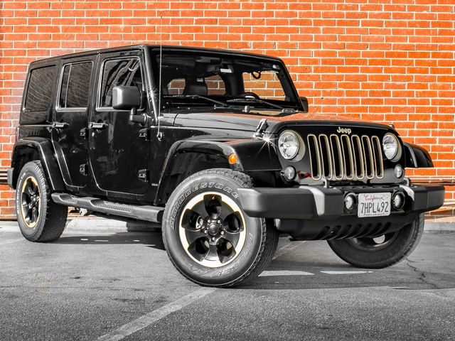 2014 Jeep Wrangler Unlimited Dragon Edition Burbank, CA 1