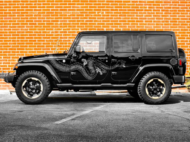 2014 Jeep Wrangler Unlimited Dragon Edition Burbank, CA 5