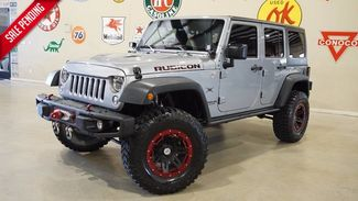 2014 Jeep Wrangler Unlimited Rubicon X 4X4 LIFTED,NAV,HTD LTH,LED'S,11K! in Carrollton, TX 75006