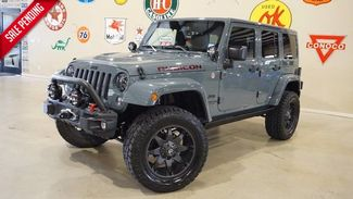 2014 Jeep Wrangler Unlimited Rubicon 4X4 LIFTED,HTD LTH,LED'S,FUEL WHLS,36K! in Carrollton TX, 75006