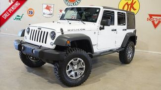 2014 Jeep Wrangler Unlimited Rubicon 4X4 6 SPD,LIFTED,NAV,CLOTH,8K! in Carrollton TX, 75006