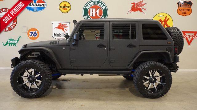 2014 Jeep Wrangler Unlimited Sport 4X4 HEMI,LIFTED,SLANT TOP,LTH,22'S,21K in Carrollton TX, 75006