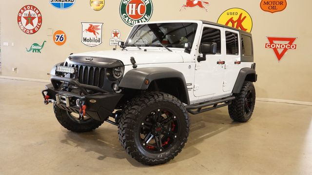 2014 Jeep Wrangler Unlimited Sport 4X4 AUTO,LIFTED,BUMPERS,LED'S,46K in Carrollton, TX 75006