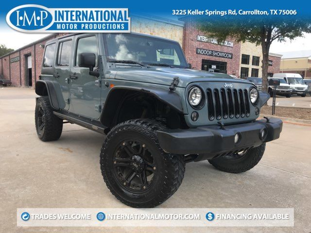 2014 Jeep Wrangler Unlimited Sport ONE OWNER