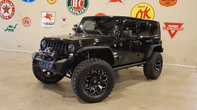 2014 Jeep Wrangler Unlimited Dragon Edition 4X4 LIFTED,BUMPERS,LED'S,89K