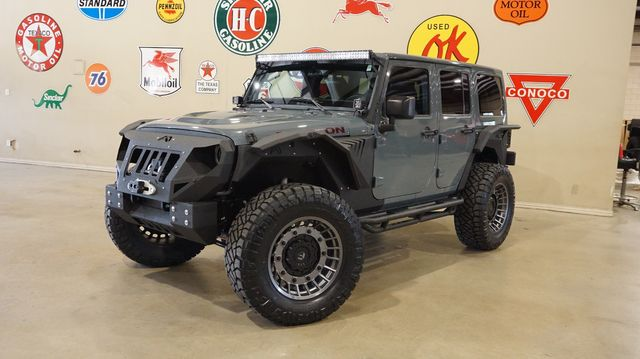 2014 Jeep Wrangler Unlimited Rubicon X 4X4 LIFTED,BUMPERS,NAV,FUEL WHLS,40K in Carrollton, TX 75006