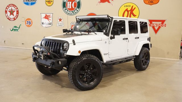 2014 Jeep Wrangler Unlimited Altitude 4X4 LIFTED,BUMPERS,NAV,HTD LTH,60K in Carrollton, TX 75006