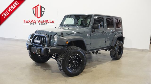 2014 Jeep Wrangler Unlimited Rubicon 4X4 AUTO,LIFTED,NAV,FUEL WHLS,72K