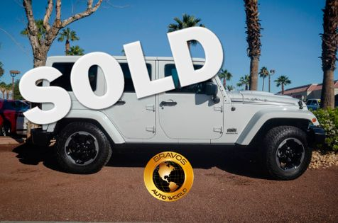 2014 Jeep Wrangler Unlimited Polar Edition in cathedral city