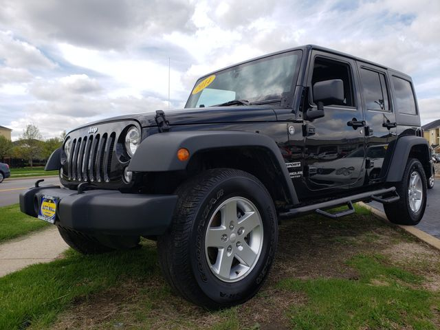 2014 Jeep Wrangler Unlimited Sport | Champaign, Illinois | The Auto Mall of Champaign in Champaign Illinois