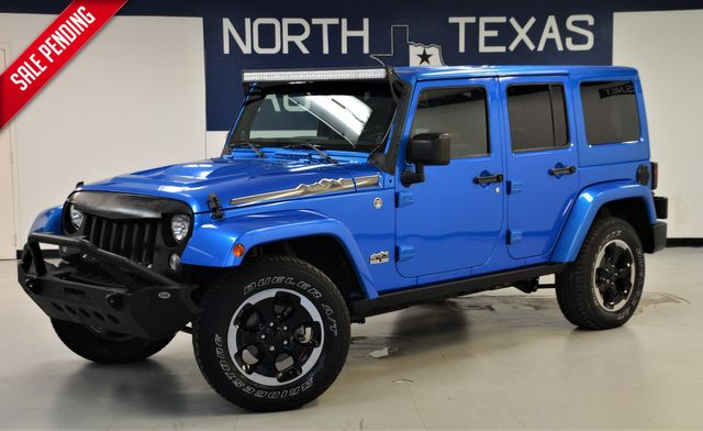 2014 Jeep Wrangler Unlimited Polar Edition 4x4 Leather Hard Top