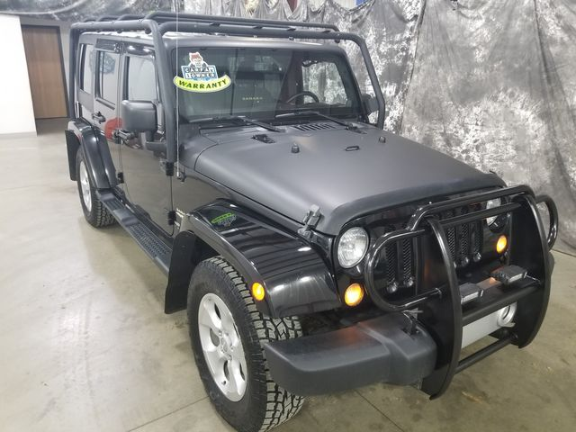 2014 Jeep Wrangler Unlimited Sahara 4x4 in Dickinson, ND 58601