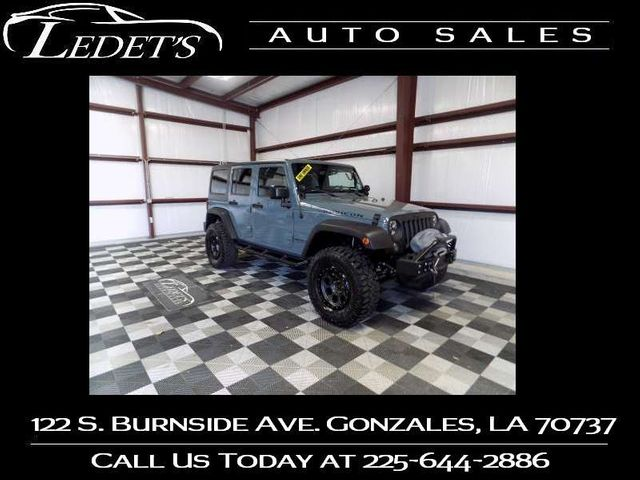 2014 Jeep Wrangler Unlimited Rubicon - Ledet's Auto Sales Gonzales_state_zip in Gonzales