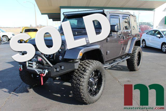 2014 Jeep Wrangler Unlimited Sahara   Granite City, Illinois   MasterCars Company Inc. in Granite City Illinois