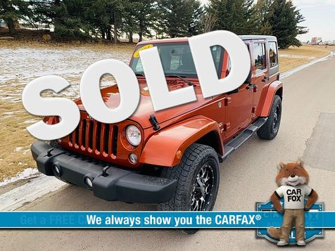 2014 Jeep Wrangler Unlimited 4d Convertible Sahara in Great Falls, MT