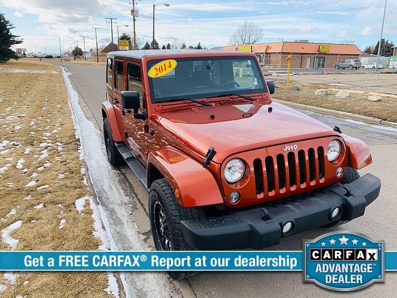 2014 Jeep Wrangler Unlimited 4d Convertible Sahara  city MT  Bleskin Motor Company   in Great Falls, MT