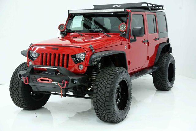 2014 Jeep Wrangler Unlimited Sport Custom Houston, Texas 3