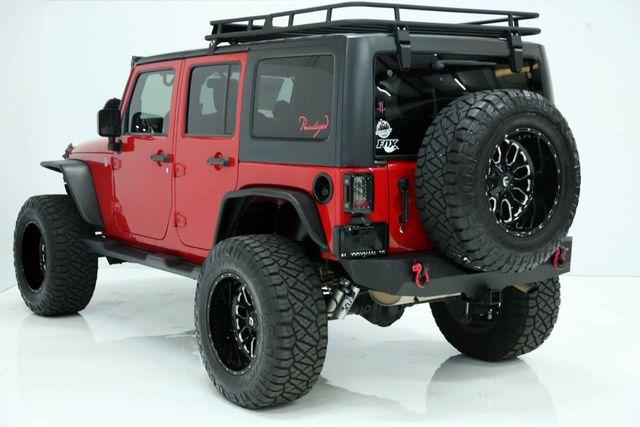 2014 Jeep Wrangler Unlimited Sport Custom Houston, Texas 9