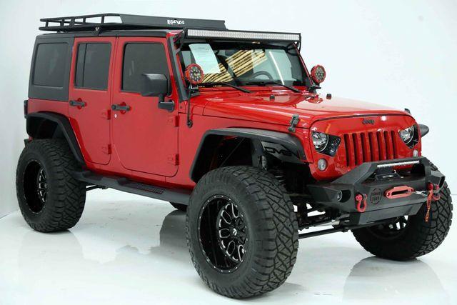 2014 Jeep Wrangler Unlimited Sport Custom Houston, Texas 1