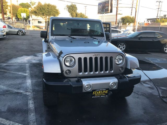 2014 Jeep Wrangler Unlimited Sahara Los Angeles, CA 1