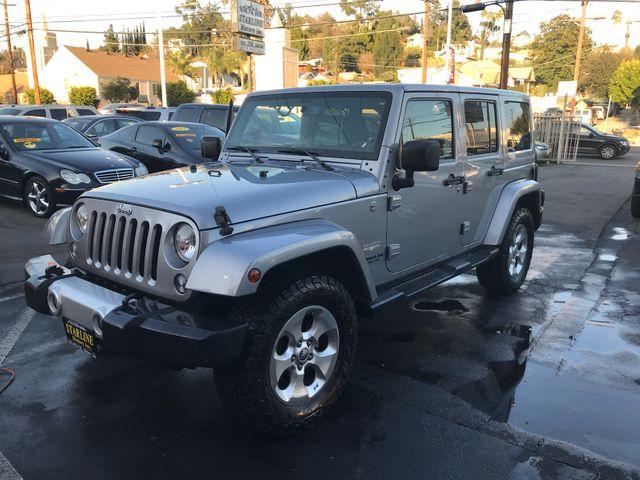 2014 Jeep Wrangler Unlimited Sahara Los Angeles, CA