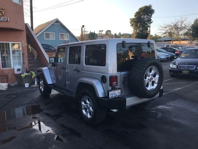2014 Jeep Wrangler Unlimited Sahara Los Angeles, CA 4