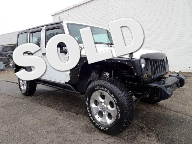 2014 Jeep Wrangler Unlimited Sport RHD Madison, NC