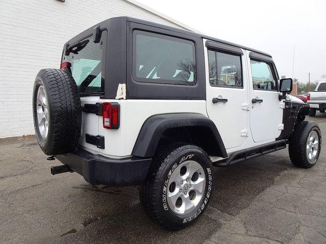 2014 Jeep Wrangler Unlimited Sport RHD Madison, NC 2