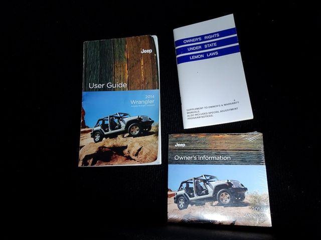 2014 Jeep Wrangler Unlimited Sport RHD Madison, NC 43