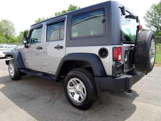2014 Jeep Wrangler Unlimited Sport RHD Madison, NC 4