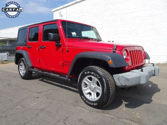 2014 Jeep Wrangler Unlimited Sport RHD Madison, NC 1