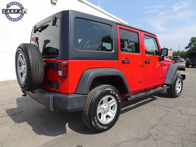 2014 Jeep Wrangler Unlimited Sport RHD Madison, NC 2