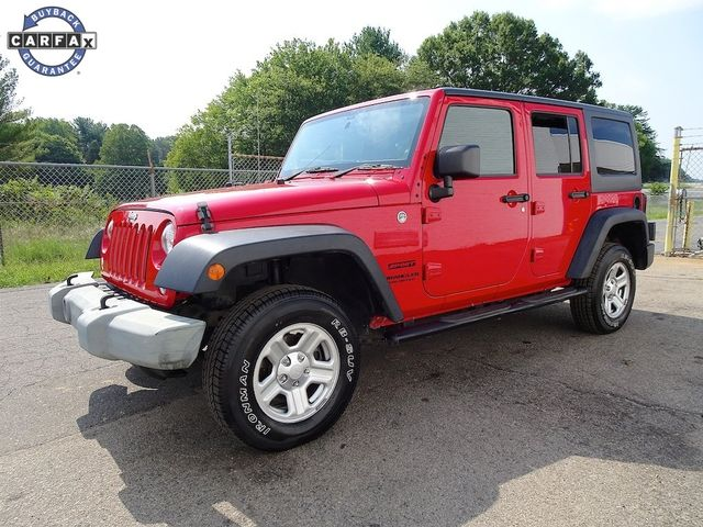 2014 Jeep Wrangler Unlimited Sport RHD Madison, NC 6