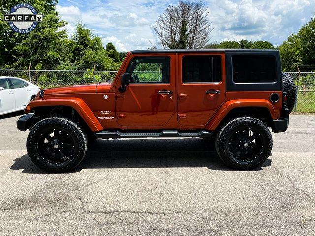 2014 Jeep Wrangler Unlimited Sahara Madison, NC 4