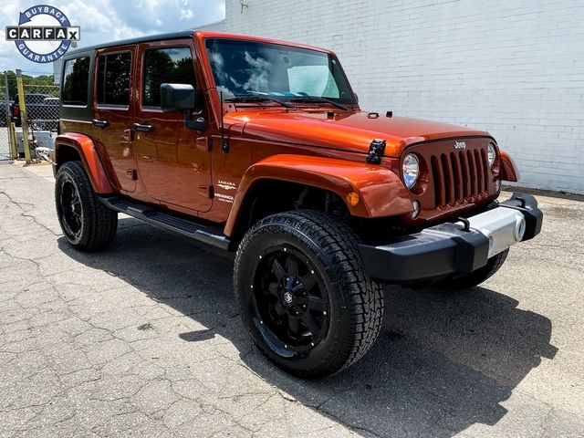 2014 Jeep Wrangler Unlimited Sahara Madison, NC 7