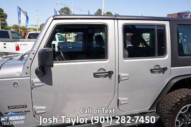 2014 Jeep Wrangler Unlimited Sport in Memphis, Tennessee 38115